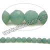 Gemstone Beads, Amazonite, Grade A, Faceted round, Approx 4mm, Hole: Approx 0.8mm, 95pcs per strand, Sold by strands