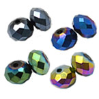Metallic Plating Crystal Beads