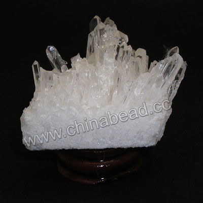 Mineral specimen, Clear quartz cluster, Approx 45x35x45mm, 10 pieces per package, Sold by packages
