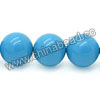 Gemstone beads, Dyed blue American turquoise, Smooth round, Approx 12mm, Hole: Approx 0.8mm, Approx 33 pieces per strand, Sold by strands