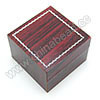 Wooden ring gift boxes, Reddish brown, Square, Approx 50x50x35mm, 20 pieces per bag, Sold by bags