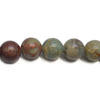 Gemstone Beads, Serpentine, Smooth round, Approx 4mm, Hole: Approx 1mm, 98 pieces per strand, Sold by strands