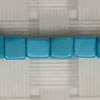 Gemstone Beads, Magnesite, Turquoise blue, Cube, Approx 4x4x4mm, Hole: Approx 1mm, 96 pieces per strand, Sold by strands