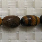 Gemstone brown tigereye beads, Smooth nugget, Approx 9x15mm, Hole: approx 1mm, 27 pieces per strand, Sold by strands