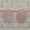 Gemstone rose quartz beads, Smooth horse eye, Approx 18x13x6mm, Hole: approx 1mm, 22 pieces per strand, Sold by strands