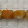 Gemstone yellow jade beads, Faceted nugget, Approx 20x10mm, Hole: Approx 1mm, 20 pieces per strand, Sold by strands
