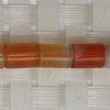 Gemstone red agate beads, Smooth tube, Approx 8x6mm, Hole: Approx 1mm, 49 pieces per strand, Sold by strands