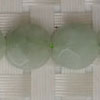 Gemstone jadeite beads, Faceted puffy disc, Approx 10x5mm, Hole: Approx 1mm, 39 pieces per strand, Sold by strands
