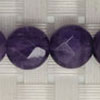 Gemstone light amethyst beads, Faceted disc, Approx 10x4mm, Hole: Approx 1mm, 39 pieces per strand, Sold by strands