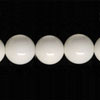 Gemstone Beads, Opaque white agate, Smooth round, Approx 12mm, Hole: Approx 1.2mm, 33 pieces per strand, Sold by strands