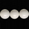 Gemstone Beads, Opaque white agate, Smooth round, Approx 14mm, Hole: Approx 1.2mm, 28 pieces per strand, Sold by strands