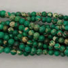 Gemstone imperial jasper beads, Green, Smooth round, Approx 4mm, Hole: Approx 1.2mm, 110 pieces per strand, Sold by strands