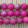 Gemstone imperial jasper beads, Hot pink, Smooth round, Approx 8mm, Hole: Approx 1.2mm, 51 pieces per strand, Sold by strands