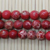 Gemstone imperial jasper beads, Red, Smooth round, Approx 6mm, Hole: Approx 1.2mm, 62 pieces per strand, Sold by strands