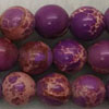 Gemstone imperial jasper beads, Purple, Smooth round, Approx 10mm, Hole: Approx 1.2mm, 38 pieces per strand, Sold by strands