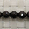 Gemstone garnet beads, Faceted round, Approx 6mm, Hole: Approx 1mm, 66 pieces per strand, Sold by strands