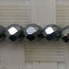 Gemstone terahertz beads, Faceted round, Approx 4mm, Hole: Approx 0.8mm, 99 pieces per strand, Sold by strands