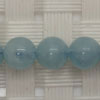 Gemstone aquamarine beads, Smooth round, Approx 6mm, Hole: Approx 1mm, 65 pieces per strand, Sold by strands