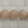Gemstone peach morganite beads, Smooth round, Approx 8mm, Grade B, Hole: Approx 1mm, 49 pieces per strand, Sold by strands