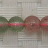 Gemstone red and green strawberry quartz beads, Smooth round, Approx 6mm, Grade B, Hole: Approx 1mm, 65 pieces per strand, Sold by strands