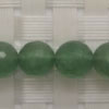 Gemstone green strawberry quartz beads, Faceted round, Approx 8mm, Hole: Approx 1mm, 49 pieces per strand, Sold by strands