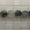 Gemstone rutilated quartz beads, Faceted round, Approx 6mm, Hole: Approx 1mm, 65 pieces per strand, Sold by strands