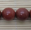 Gemstone brown goldstone beads, Smooth round, Approx 16mm, Hole: Approx 1mm, 25 pieces per strand, Sold by strands