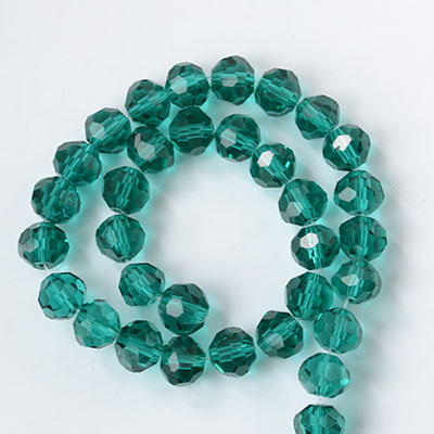 3mm faceted round crystal beads in assorted colors for DIY jewelry, 32 facets, Hole: Approx 0.8mm, Sold by strands